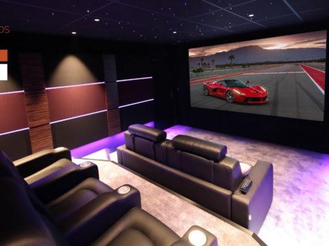 """Salle de cinéma privée """" Le Garage"""""""