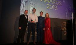 Réception du prix aux Cedia Award  pour la meilleur salle de cinéma 2019